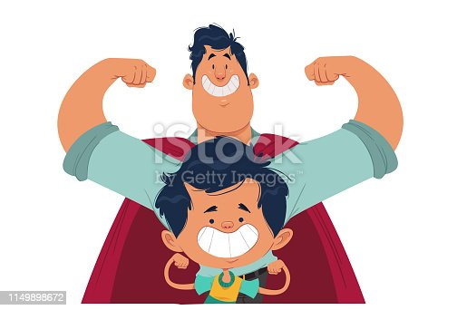istock My Dad, my Hero! 1149898672