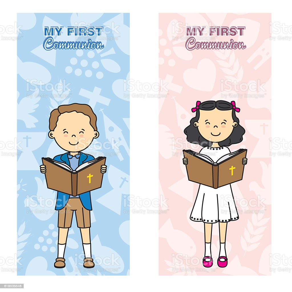 my first communion card royalty free my first communion card stock vector art