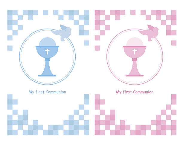 my first communion - communion stock illustrations, clip art, cartoons, & icons
