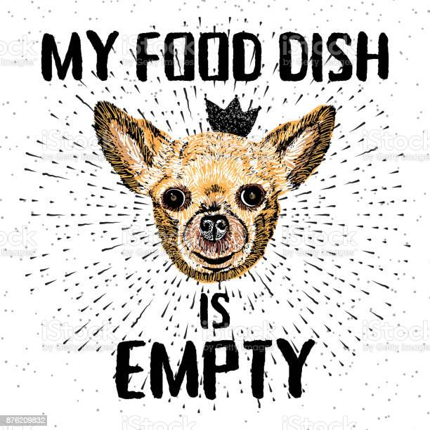 My food dish is empty vector illustration with hand drawn lettering vector id876209832?b=1&k=6&m=876209832&s=612x612&h=md1uuvwtbtzezbuipidb q3qtvk0ipis2jzvdbeaysk=