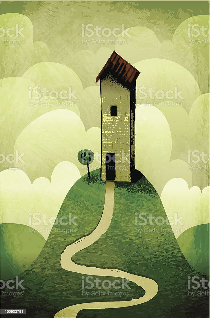 My house on the hill royalty-free my house on the hill stock vector art & more images of abandoned