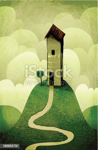 istock My house on the hill 165953791