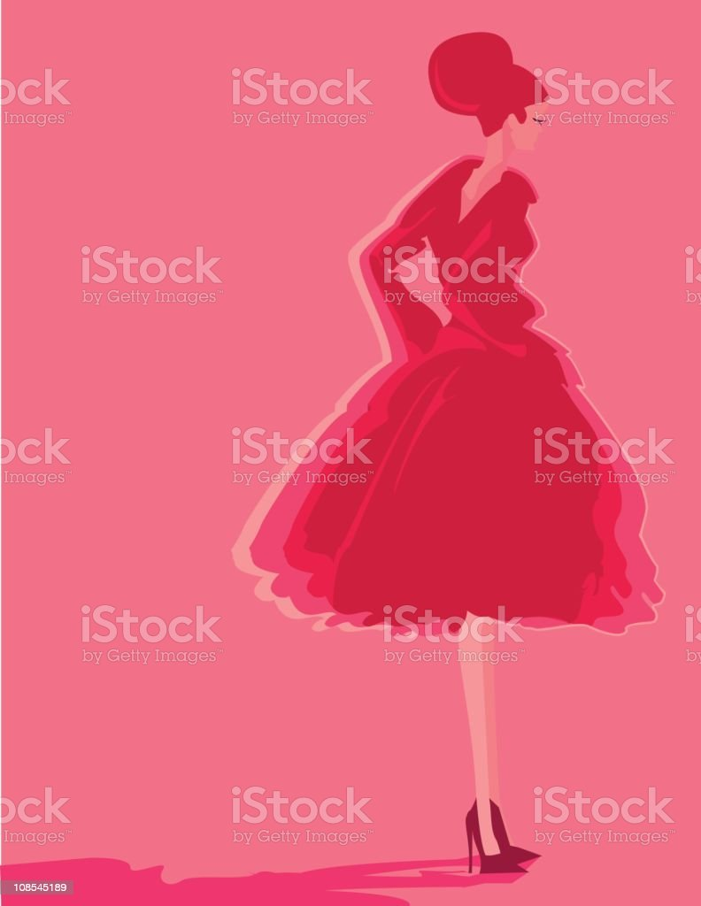 My life in Pink royalty-free my life in pink stock vector art & more images of 1950-1959