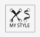 XS my style. Design for youth, teenagers.