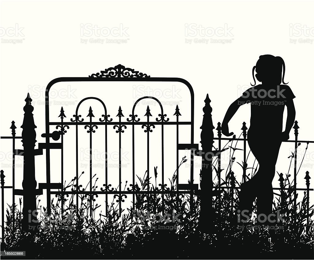 My Yard Vector Silhouette royalty-free my yard vector silhouette stock vector art & more images of cheerful