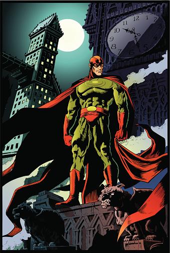 Mystery Super Hero Poster