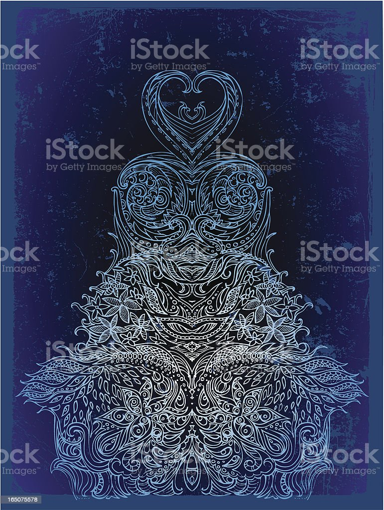 mystical formation royalty-free stock vector art