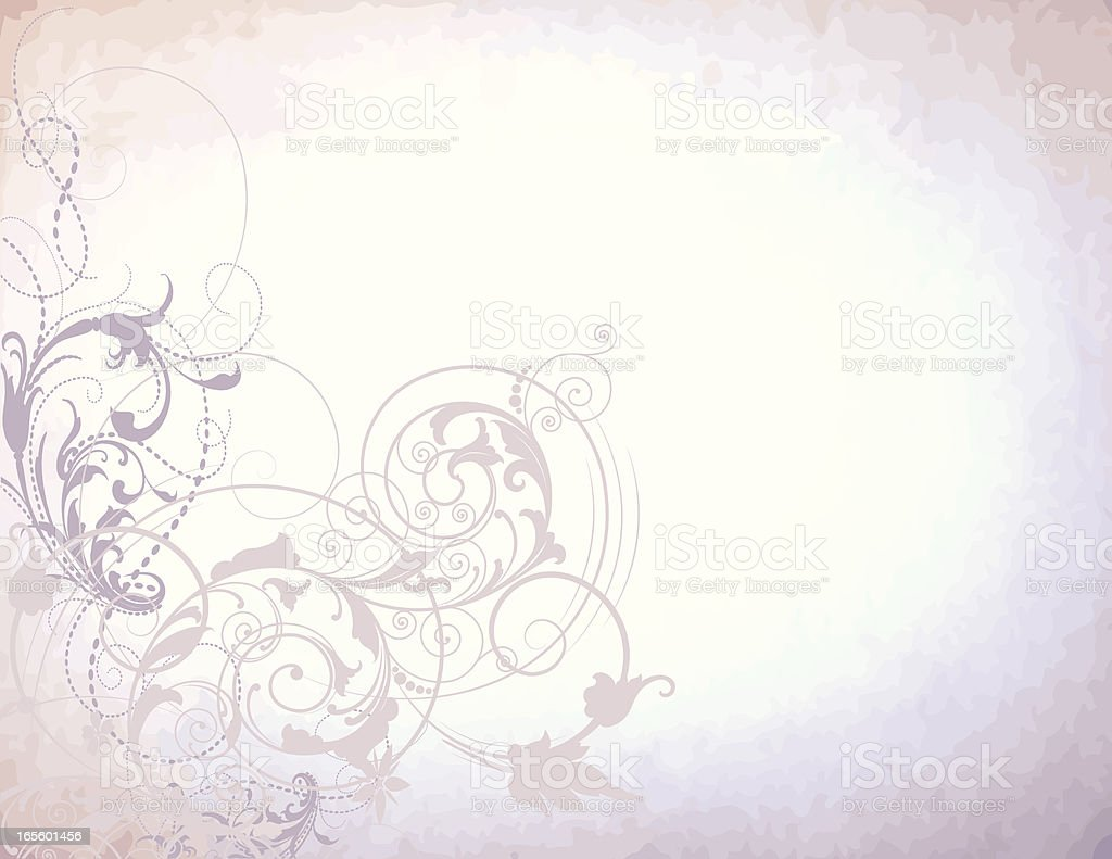Mystical Scroll Background royalty-free stock vector art