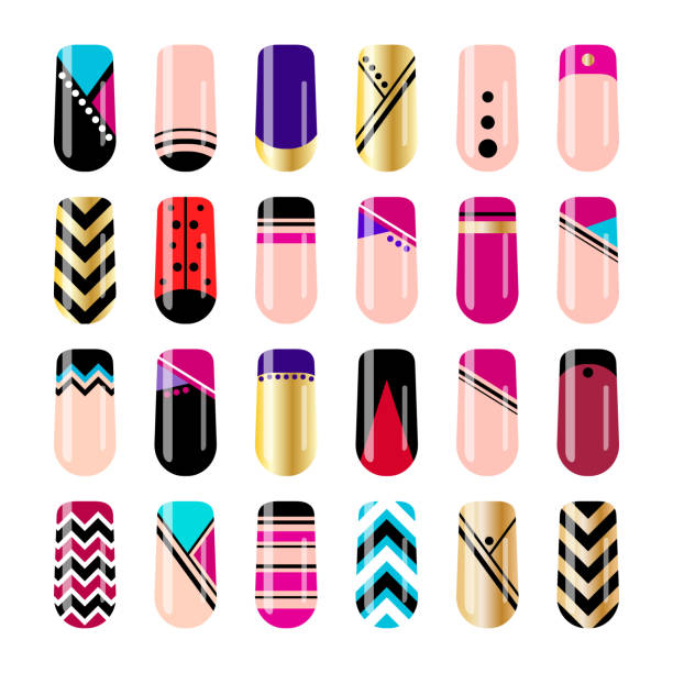 Best Nail Art Illustrations, Royalty-Free Vector Graphics & Clip Art ...