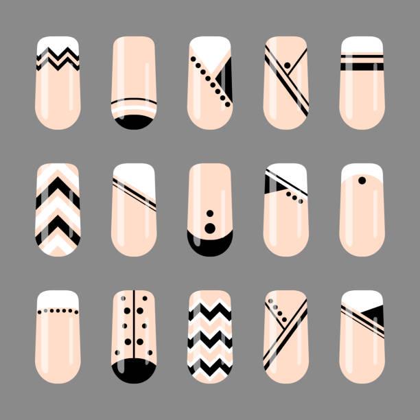 Top 60 Nail Art Clip Art, Vector Graphics and Illustrations - iStock