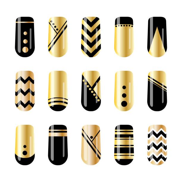 Royalty Free Nail Art Design Clip Art Vector Images Illustrations