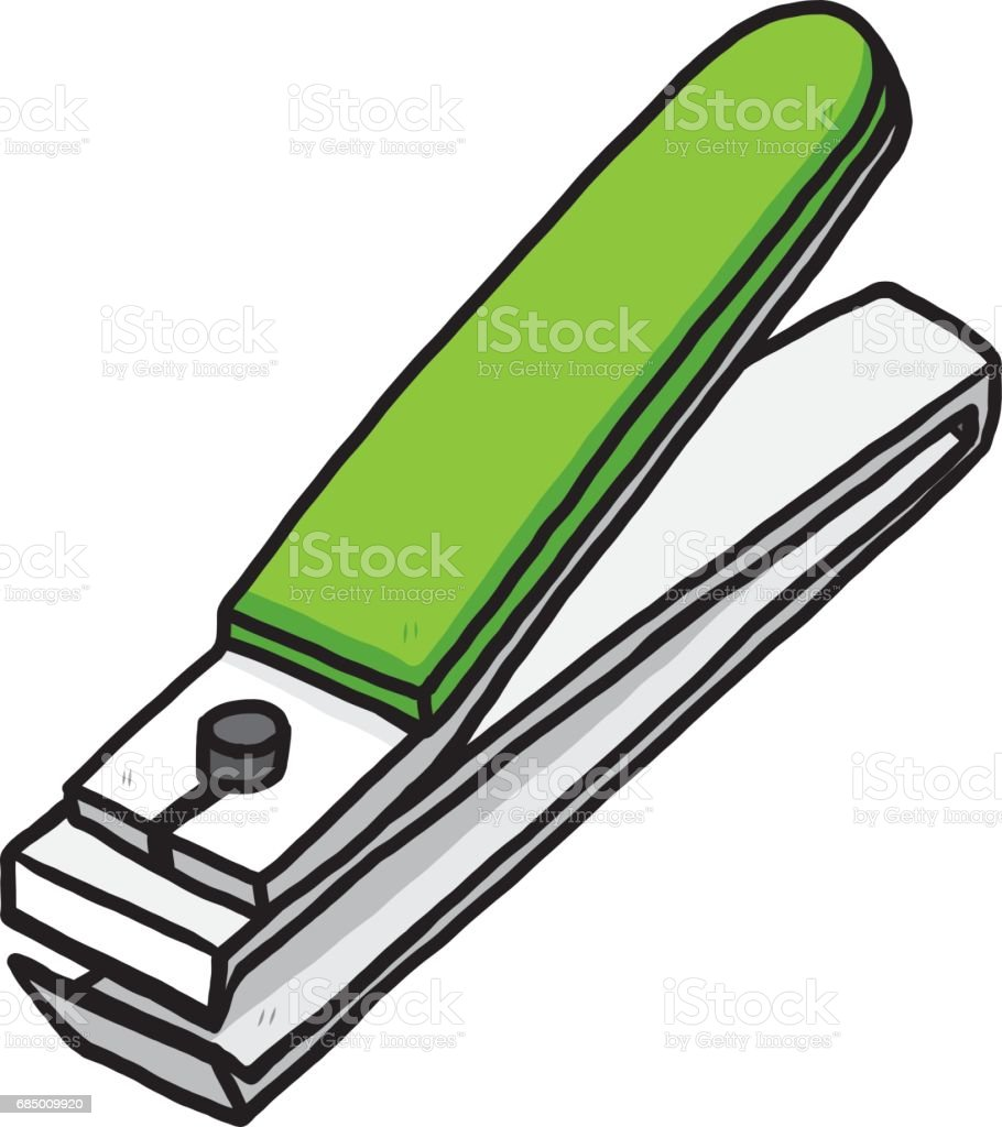 Nail Cutter Stock Vector Art More Images Of 685009920 Istock Rh Istockphoto Com Clipping Clipart