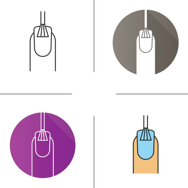 royalty free painting fingernails clip art vector images