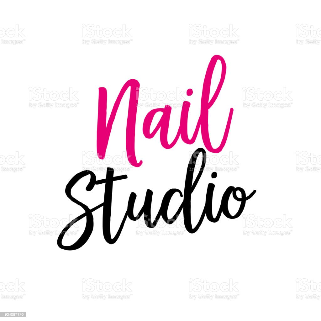 Logo Nail Artist Awesome Graphic Library