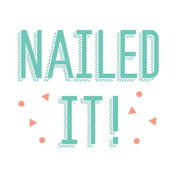 Image result for Nailed it clip art
