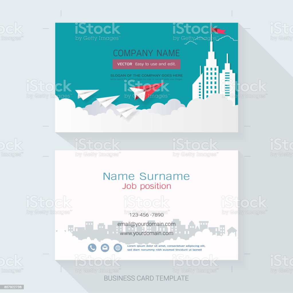 name card or business card design templatethe style is simple also