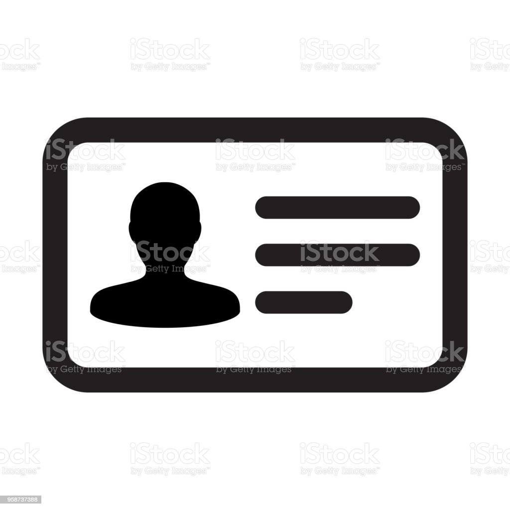 Name Icon Vector Male User Person Profile Avatar Symbol For Business