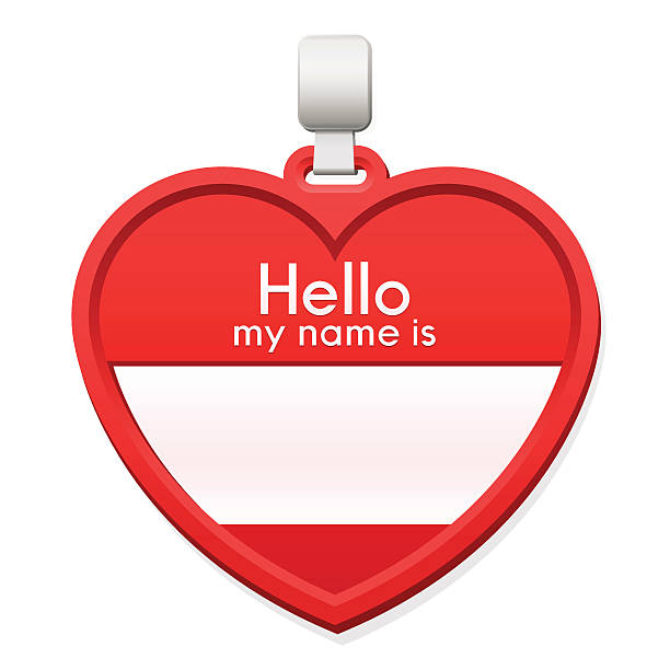 Royalty Free Blank Hello My Name Is Name Tag Stickers Clip ...