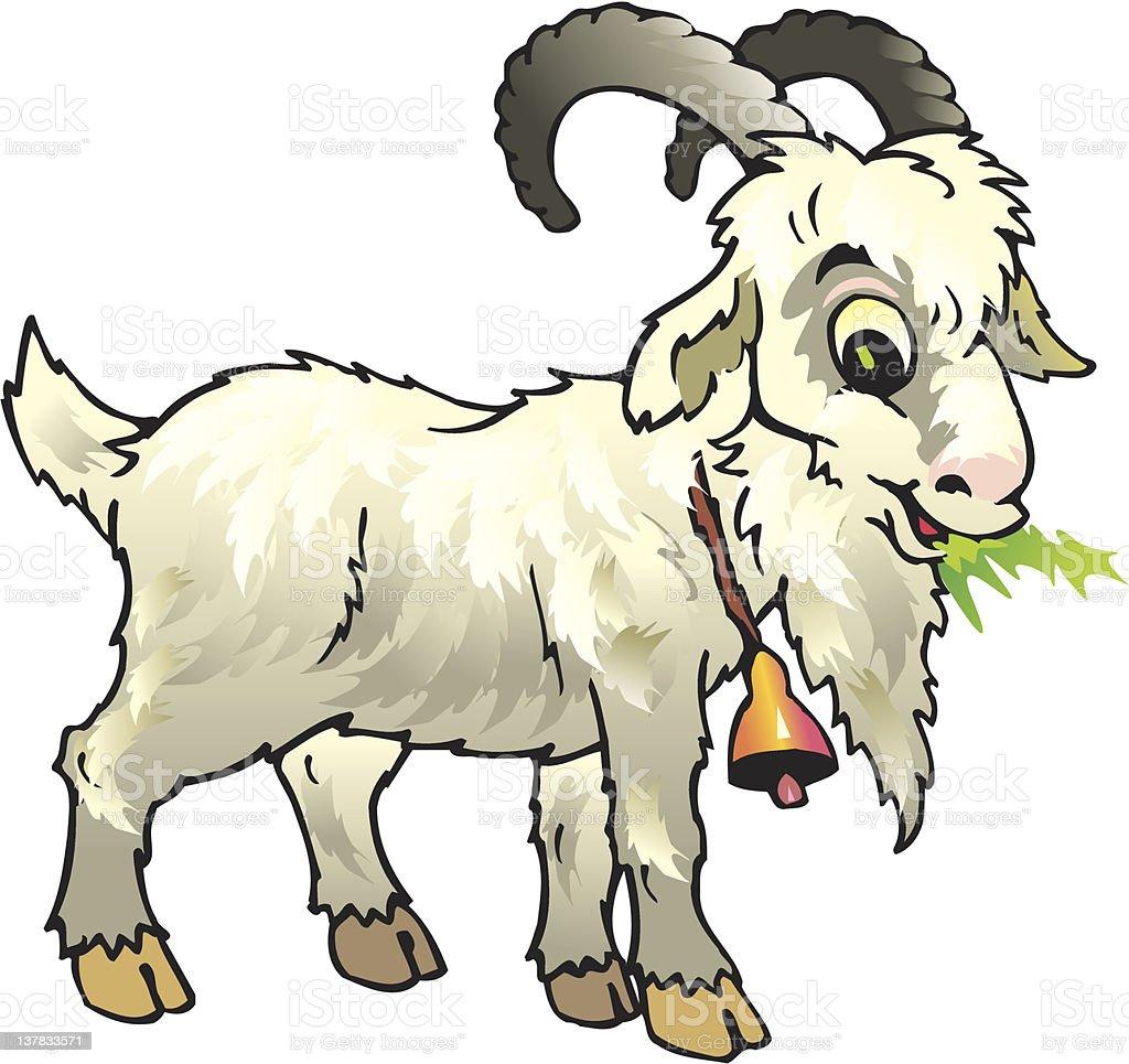 nanny goat royalty-free stock vector art