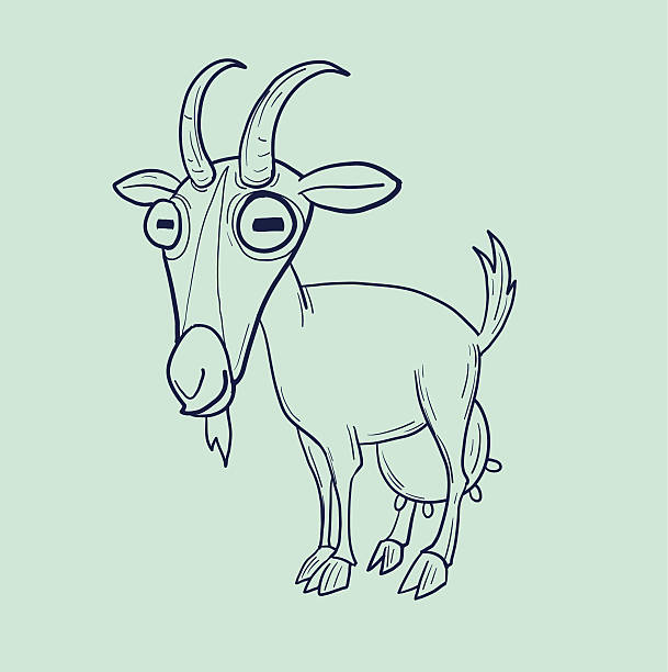 Best Nanny Goat Illustrations, Royalty-Free Vector Graphics