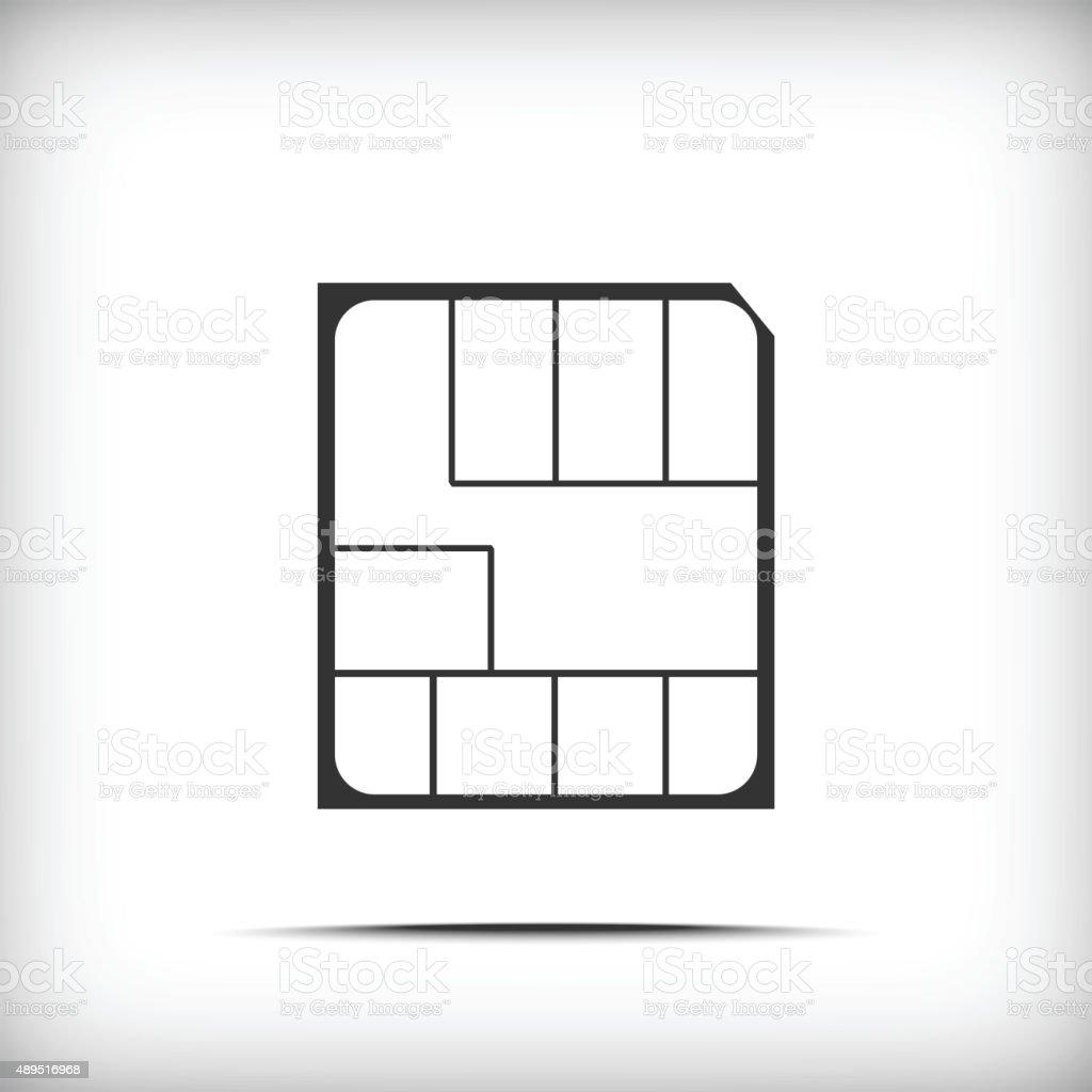 Nano Sim Karte Bilder.Nano Simkarte Stock Vektor Art Und Mehr Bilder Von Ausrüstung Und