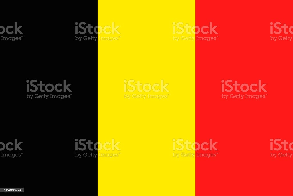 National Belgium flag, vector illustration royalty-free national belgium flag vector illustration stock vector art & more images of banner - sign
