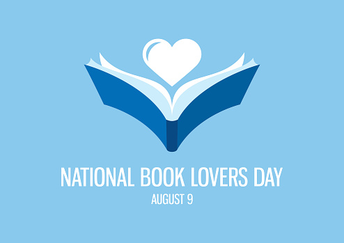 National Book Lovers Day vector