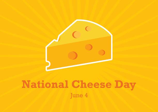 ilustrações de stock, clip art, desenhos animados e ícones de national cheese day vector - queijo