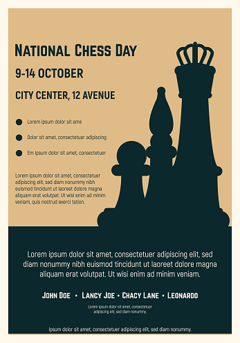 National chess day poster