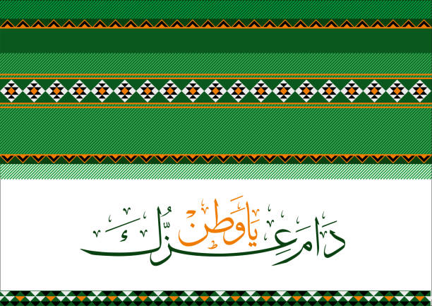 national day of saudi arabia kingdom - saudi national day stock illustrations