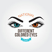 National different colored eyes day
