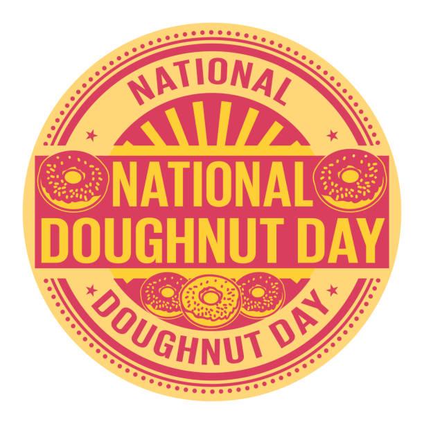 國家甜甜圈日 - 國家名勝 幅插畫檔、美工圖案、卡通及圖標