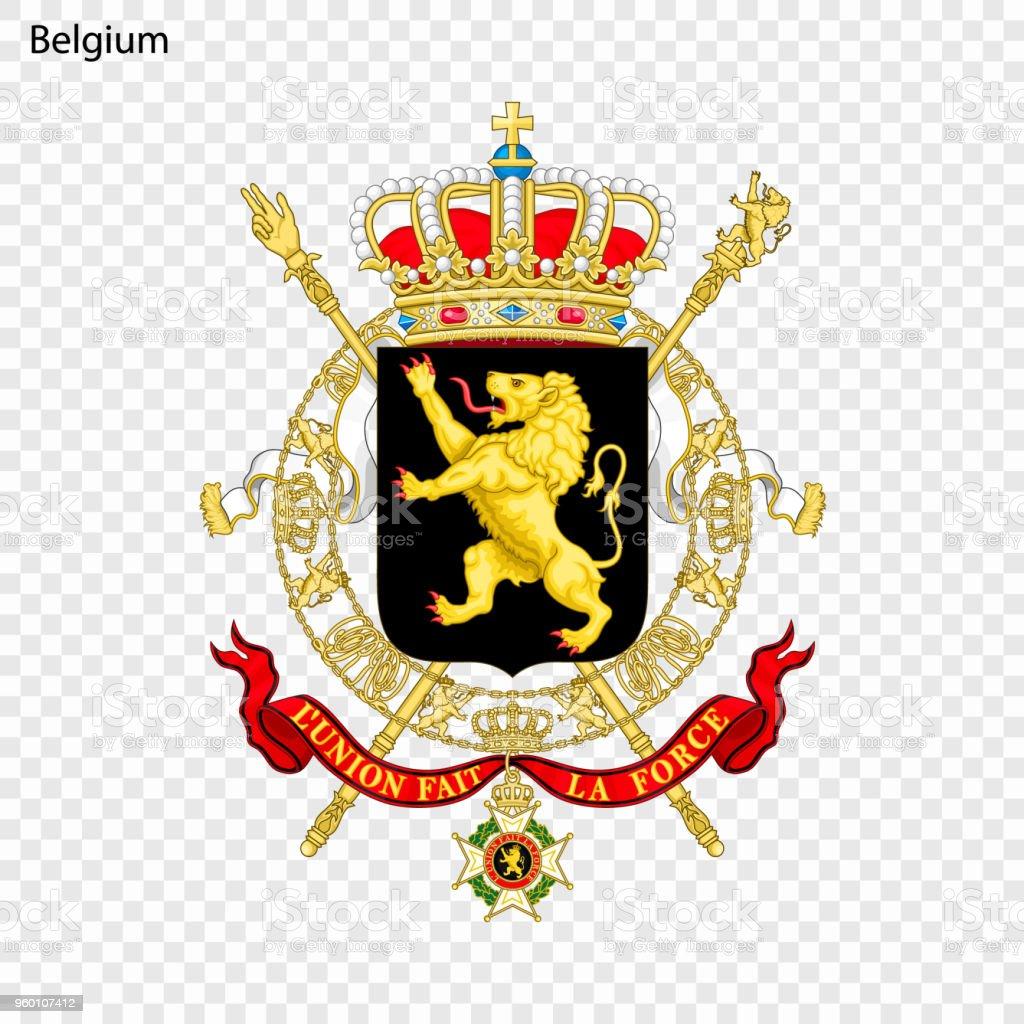 National emblem or symbol vector art illustration