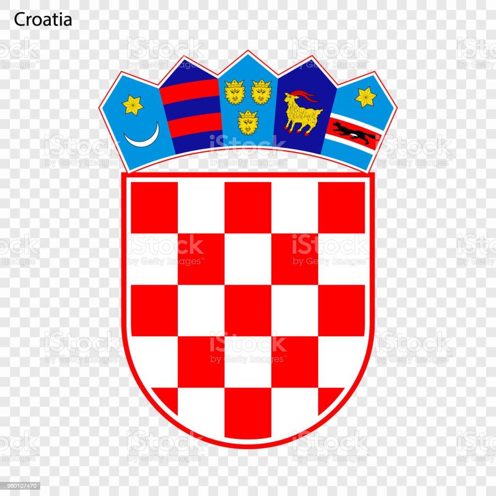 Símbolo o emblema nacional - ilustración de arte vectorial