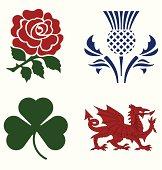 UK national emblems