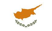 Detailed Illustration National Flag Cyprus