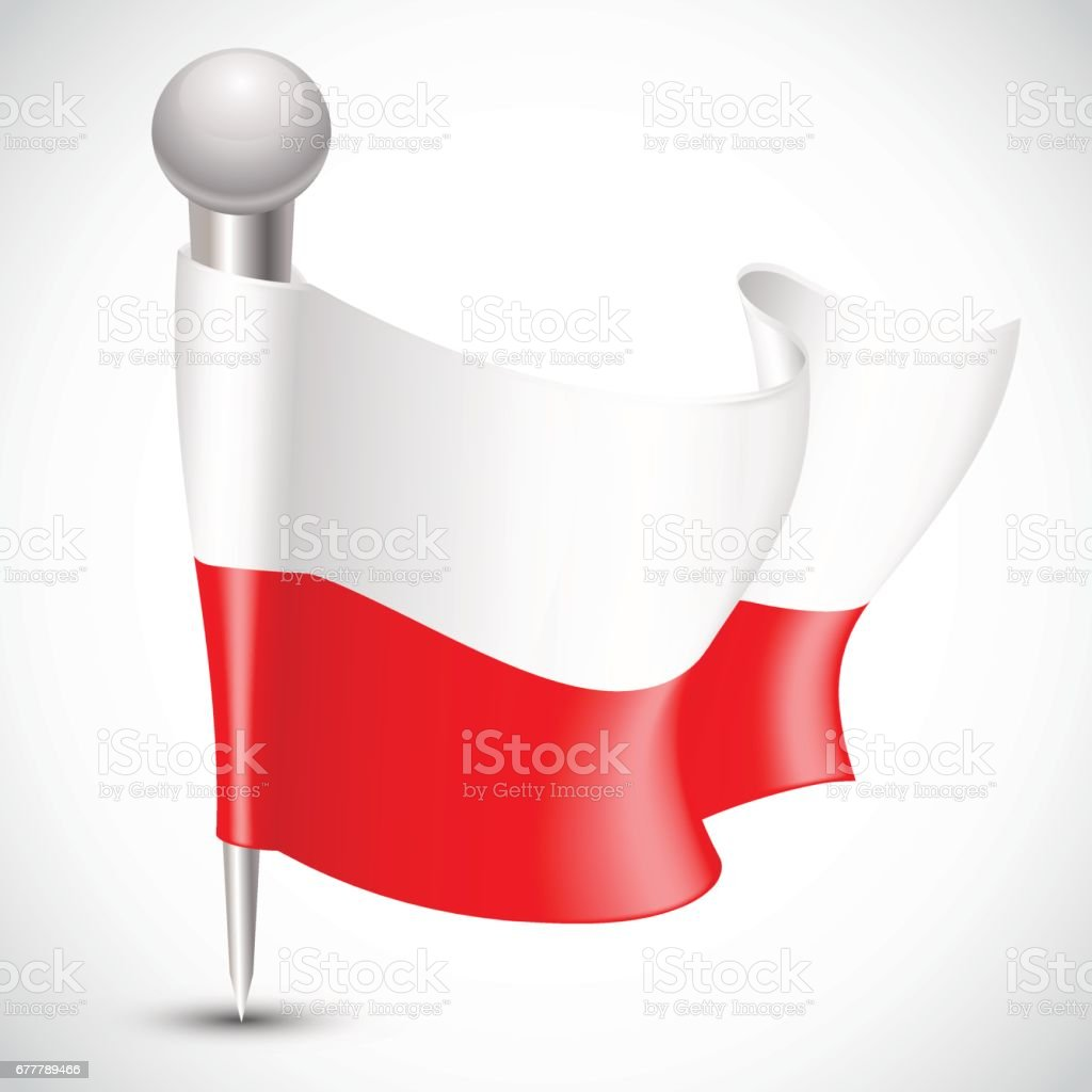 National Flag of Poland on white royalty-free national flag of poland on white stock vector art & more images of cartoon