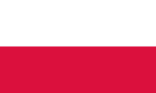 nationalflagge polen - flagge polen stock-grafiken, -clipart, -cartoons und -symbole