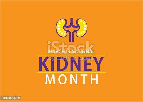 istock national kidney month design 1303484791
