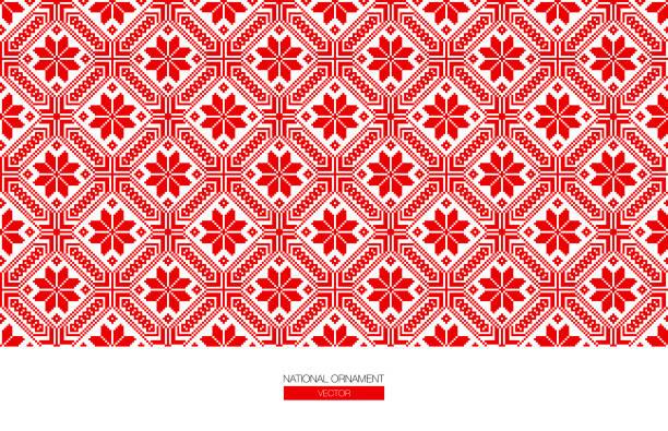 国家の装飾背景 - ウクライナ点のイラスト素材/クリップアート素材/マンガ素材/アイコン素材