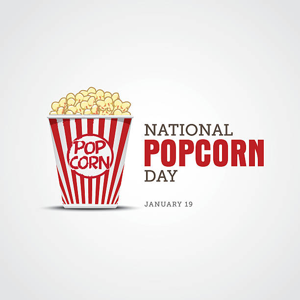 42 National Popcorn Day Illustrations, Royalty-Free Vector Graphics & Clip  Art - iStock
