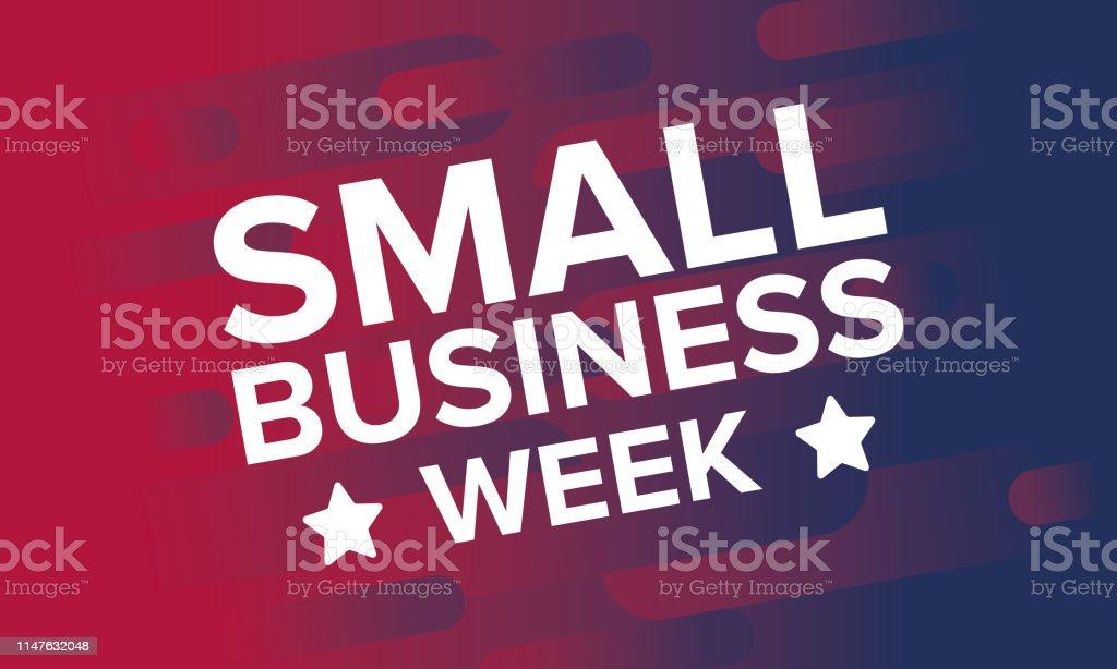 국가 중소기업은 5 월입니다. 미국에서 매년 축 하 합니다. 비즈니스 개념입니다.  포스터, 카드, 배너 및 배경. 벡터 일러스트 - 로열티 프리 5월 스톡 일러스트