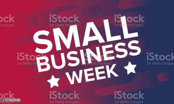 국가 중소기업은 5 월입니다 미국에서 매년 축 하 합니다 비즈니스 개념입니다 포스터 카드 배너 및 배경 벡터 일러스트 5월에 대한 스톡 벡터 아트 및 기타 이미지