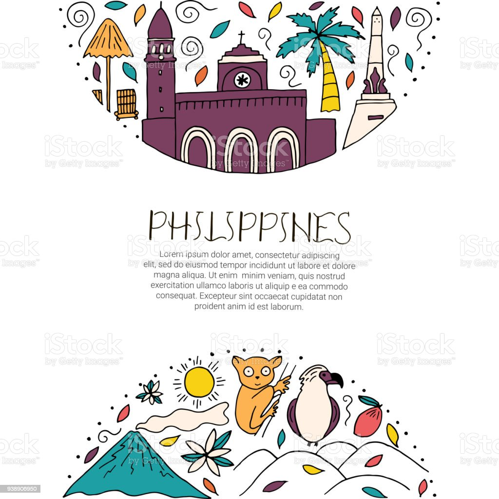 National symbols of philippines stock vector art more images of national symbols of philippines royalty free national symbols of philippines stock vector art amp biocorpaavc Images