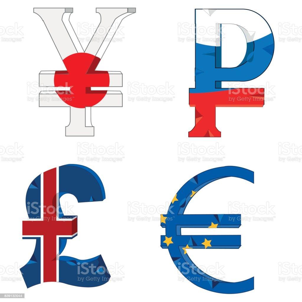 National symbols of the money stock vector art 839132044 istock national symbols of the money royalty free stock vector art biocorpaavc