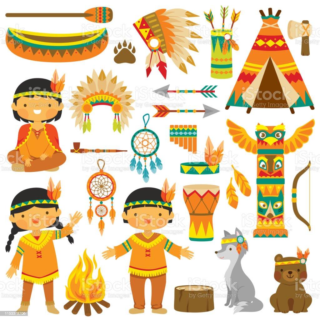Native American Free Vector Art - (6,135 Free Downloads)