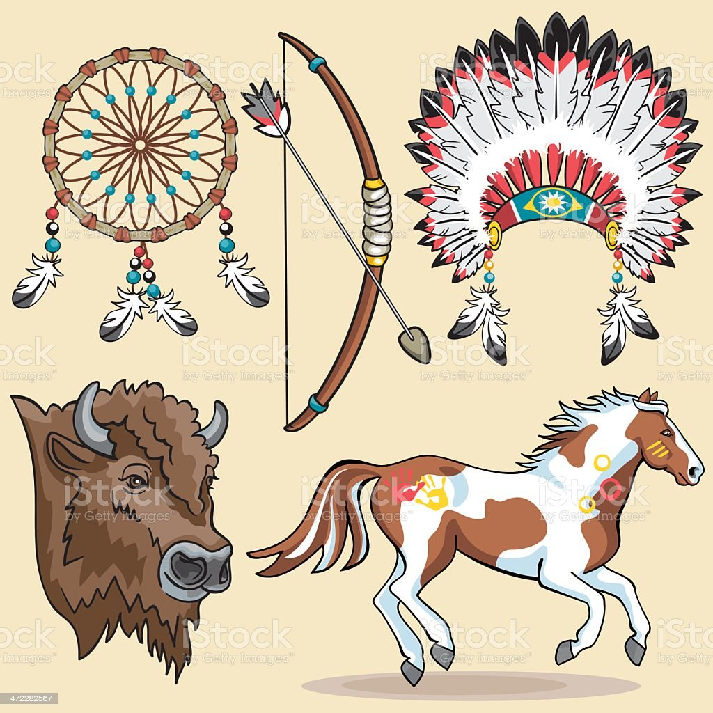 native american design elements stock vector art 472282567 istock