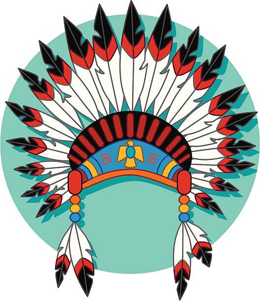 33a1ed09b4c Top 60 Clip Art Of A White Indian Headdress Clip Art