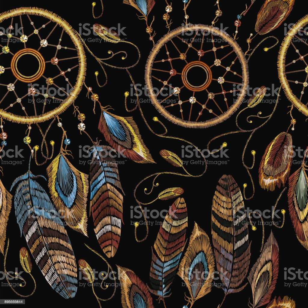 Ilustración de Atrapasueños De Talismán Indios Nativos Americanos ...