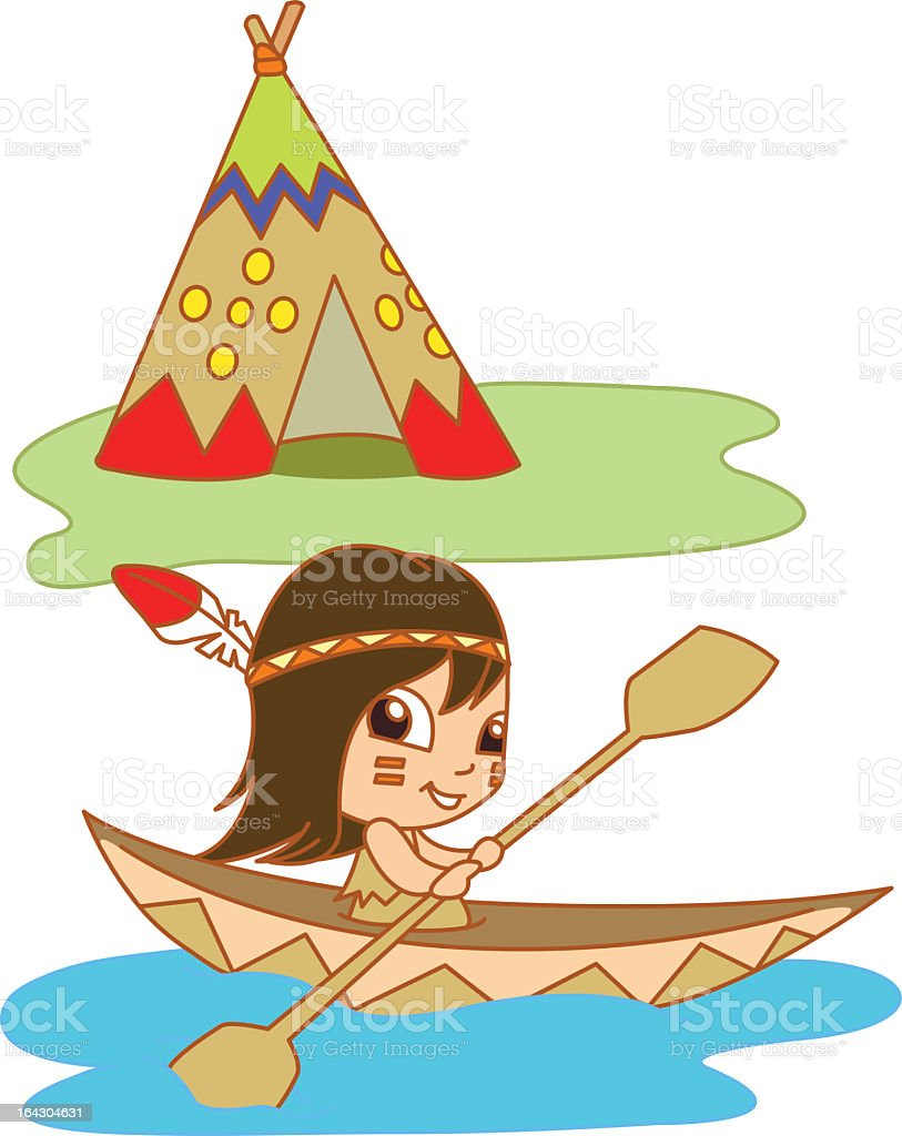 Native lake royalty-free native lake stock vector art & more images of camping